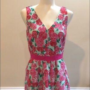 VINEYARD VINES KENTUCKY DERBY GORGEOUS ROSE DRESS